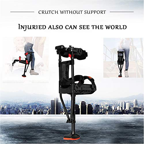 TXDWYF Knee Crutch/Knee Walker Scooter/Crutches Adult Hands Free/Crutch Alternative/Hands Free Crutch/Mobility Aids Health Balance