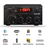 Dulcet DC-A30X 2 Channel Stereo Amplifier with Big LED Display/Bluetooth/MIC Input/USB/SD Card Slot/FM