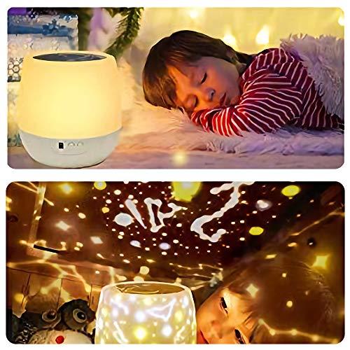 リモコン式」スタープロジェクターライト 星空ライト スターナイトライト, Yorze ベッドサイドランプ 家庭用 プラネタリウム ライト 常夜灯 雰囲気を作り 星空投影 タイマー付 多色変更可能 6 セット投影映画360度回転 USB 電池 兼用 お子さん・彼女にプレゼント 誕生日ギフト
