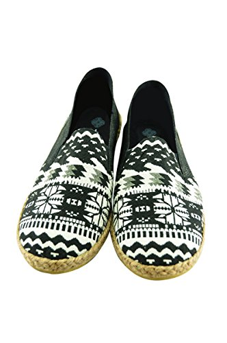 virblatt Espadrilles de cáñamo cómodas para Hombres en Tallas 40 41 42 43 44 Alpargatas Hombre de cáñamo como Zapatos Verano étnicos de cáñamo–Lässig BK 44