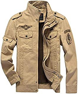 Men's Jacket Casual Commando Uniform Plus-Size Flight Suit Outdoor Sport Overcoat