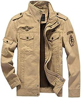 Men's Jacket Casual Commando Uniform Plus-Size Flight Suit Outdoor Sport Overcoat