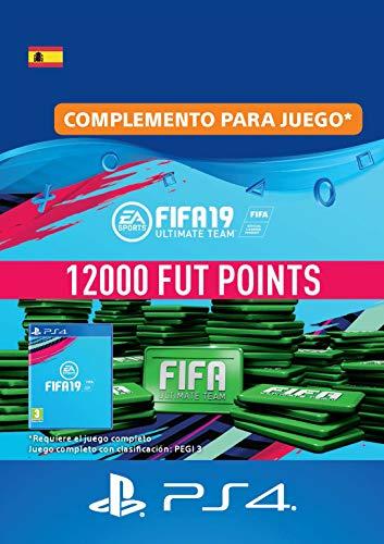 FIFA 19 Ultimate Team - 12000 FIFA Points | Código de descarga PS4 - Cuenta española