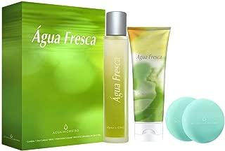 Kit Água Fresca (Deo Colônia + Hidratante Corporal + Duo Sabonete em Barra) Agua de Cheiro