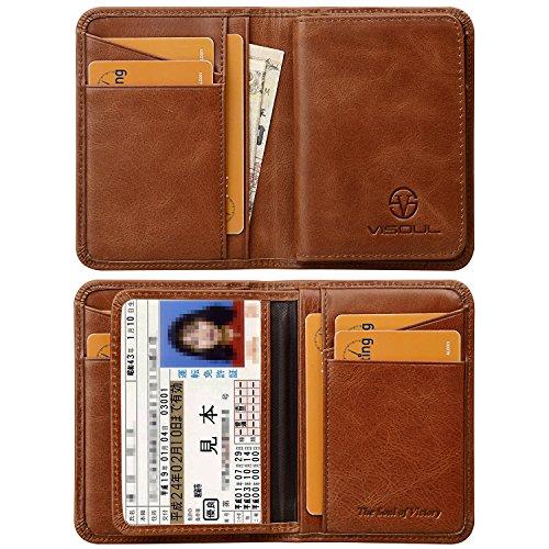 VISOUL『本革カードケース定期入れ』