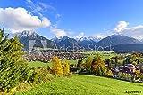 druck-shop24 Wunschmotiv: Oberstdorf im Allgäu im Herbst