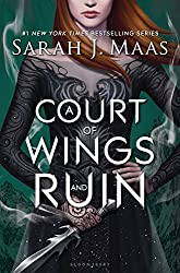 A Court of Wings and Ruin Book Cover and Link to Amazon Affiliate Page