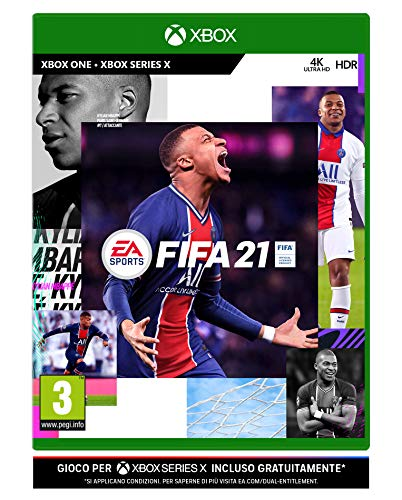Fifa 21- Xbox One, include upgrade per Xbox Series X