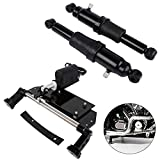 XMT-MOTO Electric Center Stand Kit and Rear Air Ride Suspension kit fits for Harley Davidson Touring 2009-2016