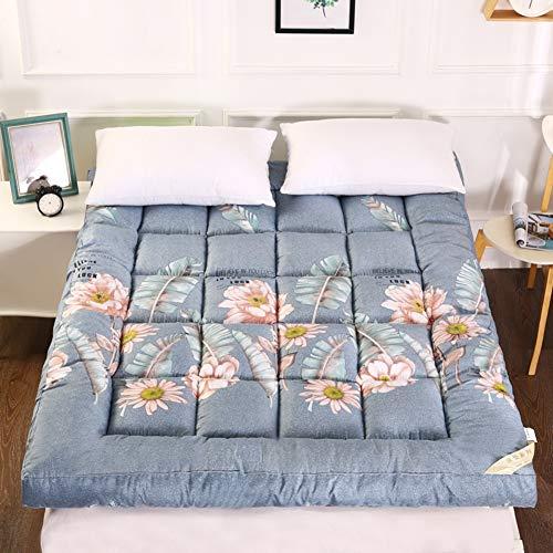 HY&PPJQ 10cm Dicker Tatami Matratze,Student Wohnheim matratze Bodenmatratze Einzelzimmer Falten Dick Warme Outdoor Indoor-J 90x200cm(35x79inch)