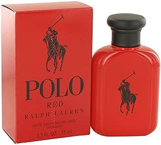 Rălph Lăuren Polô Red Men Eau De Toilette Spray 2.5 FL. OZ./75 ml