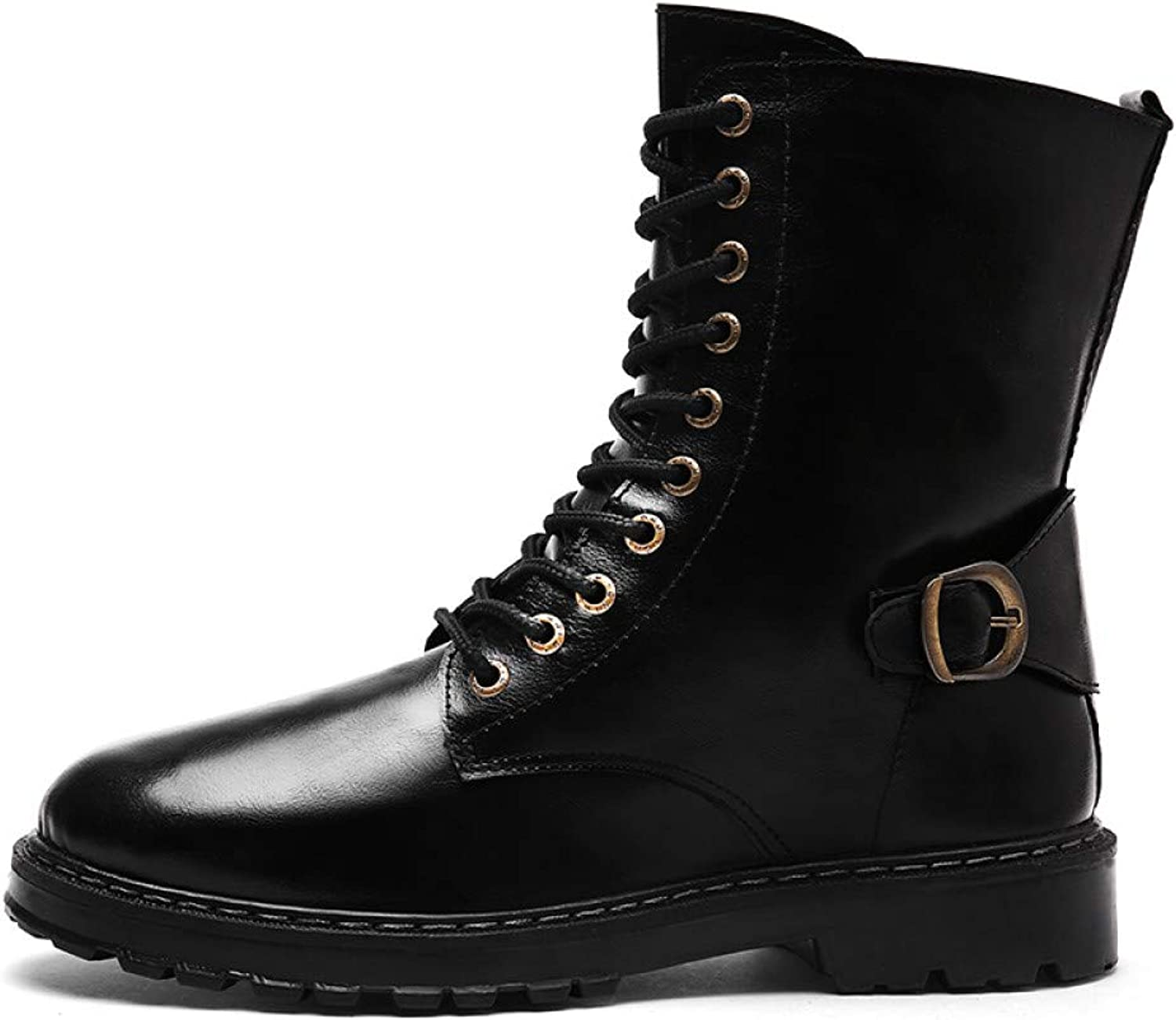 FHCGMX Casual Vintage Boots Male shoes For Men Adult Autumn Fashion Business Walking Martin Boots Footwear