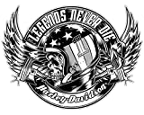 Adhesivos retroreflectantes para Casco Harley Davidson Legend Never Die