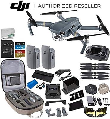 DJI Mavic Pro Collapsible Quadcopter Ultimate Bundle
