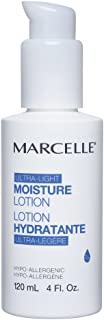 Marcelle Moisture Lotion, Hypoallergenic and Fragrance-Free, 4 fl oz