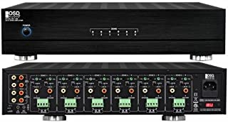 OSD Audio Multi-Zone Amplifier – 80W 12 Channel 6-Stereo Zone System, MX1260