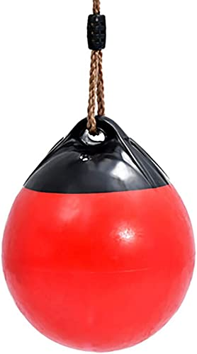 SHARESUN Boje Tether Ball Schaukel PU Seil Kette Klassische tragbare Kinder Trapez ADHS Autismus sensorische St ng Alter 3 Baum Terrasse SpielSpaß
