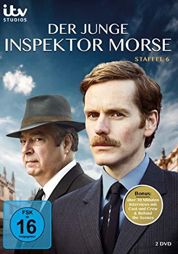 Der Junge Inspektor Morse-Staffel 6 [2 DVDs]