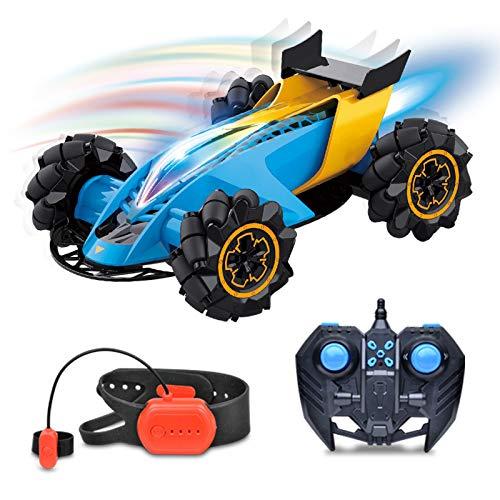 LJKD Coche de Control Remoto de Gestos de niño - Rotación de 360 Grados - Coche de Juguete Todoterreno - Coche de Carreras de Alta Velocidad - Cualquier Terreno