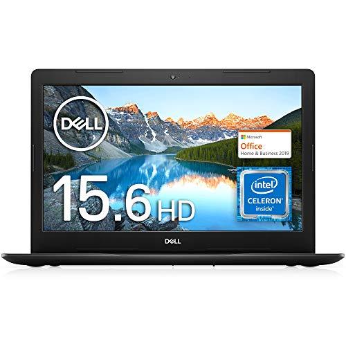 【MS Office Home&Business 2019搭載】Dell ノートパソコン Inspiron 15 3583 ブラック Win10/15.6HD/Celer...