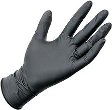 Nitril handschoenen, zwart, 100 stuks, wegwerphandschoenen, hoge kwaliteit, ideaal voor de bescherming van de keuken, hui...