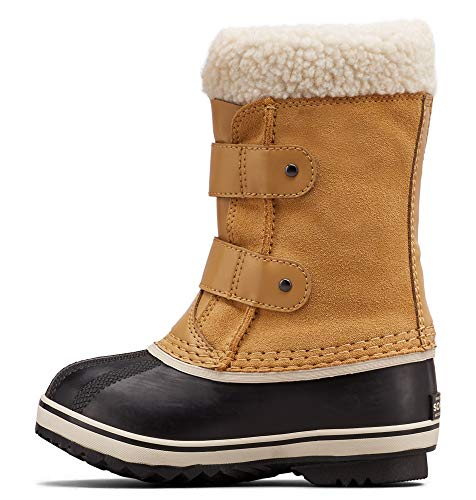 Sorel - Youth 1964 Pac Strap Winter Snow Boots for Kids, Curry, 8 M US