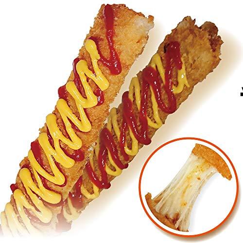 冷凍 チーズスティック フライ 10本セット 李さんの韓国チーズドッグ (プルコギ5本・ダッカルビ5本)