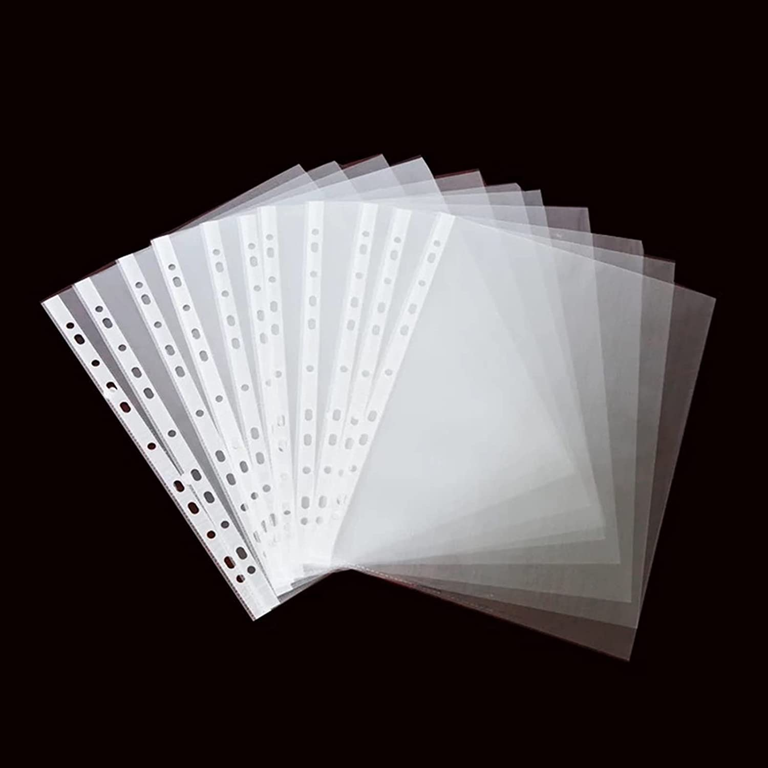 Department store Binder Clear Sheet Protector 11 Limited price sale Protecto Hole 200pcs