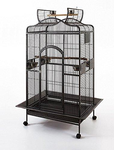 Delta Parrot Cage Macaw Cockatoo African Grey Bird Cage Q24-2822 - Black Vein