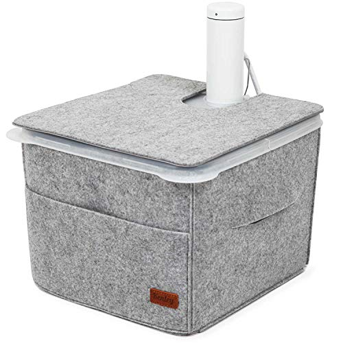 Sous Vide Container Sleeve - Insulating Cover for Rubbermaid 12 Quart Container with Lid - Heat Retention & Countertop Protection - Compatible with Side & Corner Mount Lids & Accessories