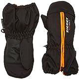Ziener Baby LANGELO AS MINIS glove Ski-handschuhe / Wintersport | wasserdicht, atmungsaktiv, black-stru (black-stru), 86cm