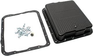 Assault Racing Products A8493PBK GM 700R4 4L60E Black Aluminum Transmission Pan Kit Gasket Bolts