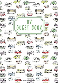 RV Guest Book: To Record Visitors & Favorite Memories (RV Lifestyle)