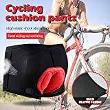 Unisex Bike Cycling Underwear Shorts 3D Padded Bicycle MTB Liner Shorts Bicycle Briefs for Women and Men