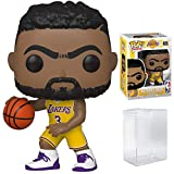 Anthony Davis LA Lakers Home Jersey #65 POP! Sports NBA Action Figure (Bundled with Pop Protector to Protect Display Box)