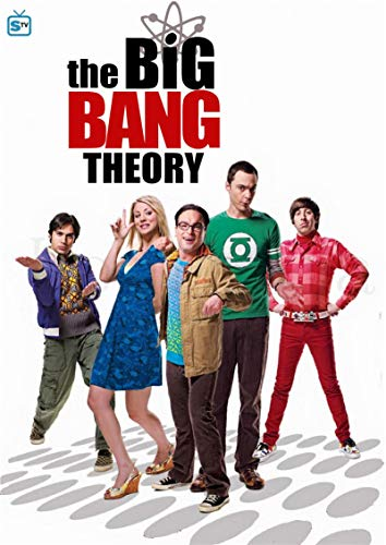 linbindeshoop The Big Bang Theory Poster Movie Wall Stickers Paper Prints High Definition Clear Picture Home Decoration (LW-579) 40x60cm No frame