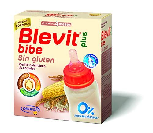 Blevit Plus Papilla Sin Gluten Para Biberón, 1 unidad 600 gr. A partir de los 4 meses.