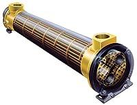 熱交換器、シェルとチューブ、330K BTU