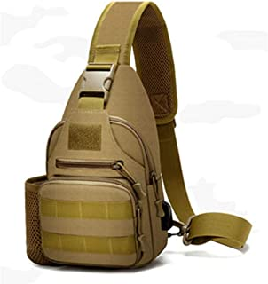 GU YONG TAO 600D Outdoor Waterproof Shoulder Bag, Waterproof Comfortable, Large Capacity External Mounting System Camping Backpack, Fits Travel, Etc