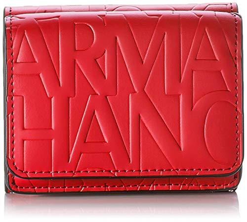 Armani Exchange dames Mini Wallet portemonnee, 4x9.5x8 cm