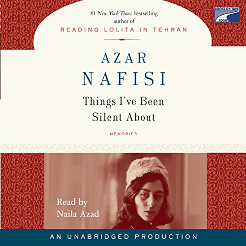Things I've Been Silent About audiobook cover art