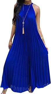 Best pleated halter dress Reviews