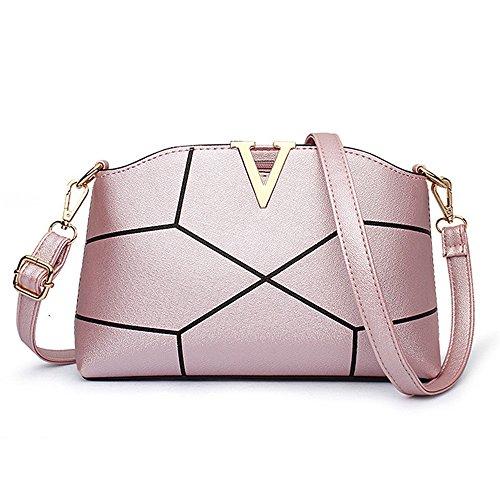 AILEESE, Borsa a tracolla donna rosa Pink medium