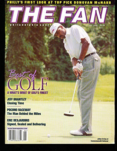 6/1999 The fan Philadelphia sports Julius Erving magazine bx1