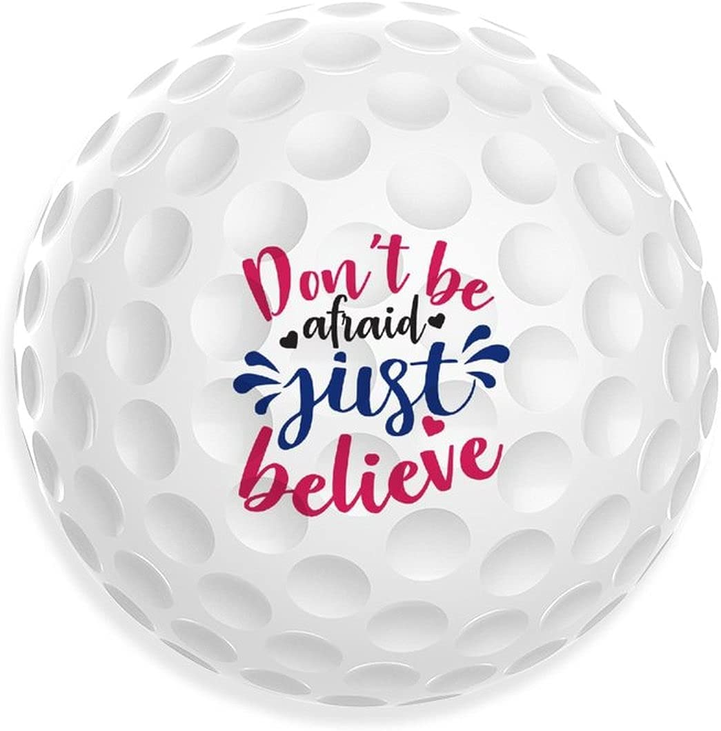 Faith Direct stock Now on sale discount Hope Love Print Golf Balls Funny Ball Indoor O Recreation