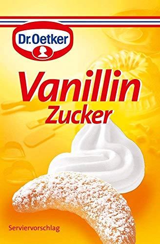 From Germany Dr. Oetker Vanillin Zucker 10 pc x 8g Vanilla Sugar German