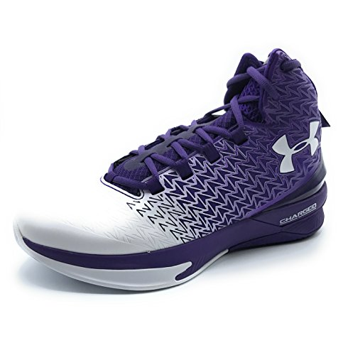 Under Armour Men's ClutchFit Drive 3 Basketball Shoe (10, Purple/White)