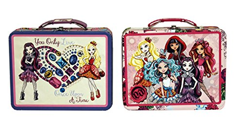 Ever After High Large Carry All Tin Lunch Box X 2 ( 1 Each Design )