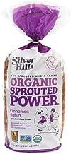 Silver Hills Bakery Organic Cinnamon Raisin Sprouted Wheat Bread, 18 Ounce -- 8 per case.