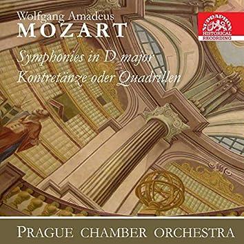 Mozart: Symphonies, 9 Kontretänze oder Quadrillen